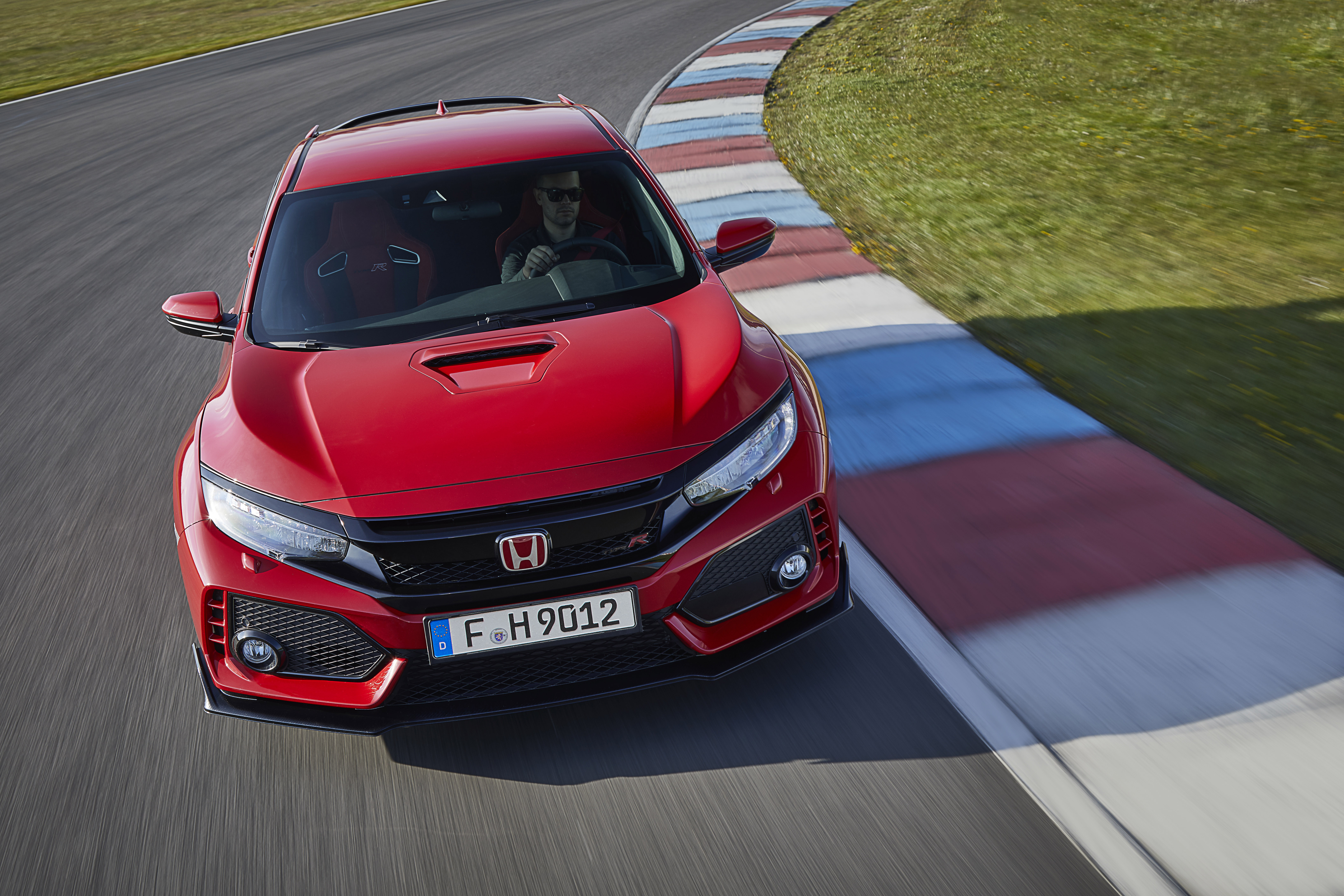 Honda Civic top front in red