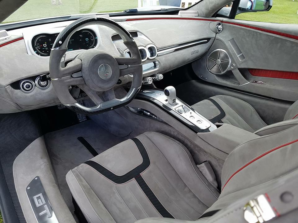 ATS Dashboard grey interior