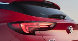 Vauxhall Astra Rear Lights in Red