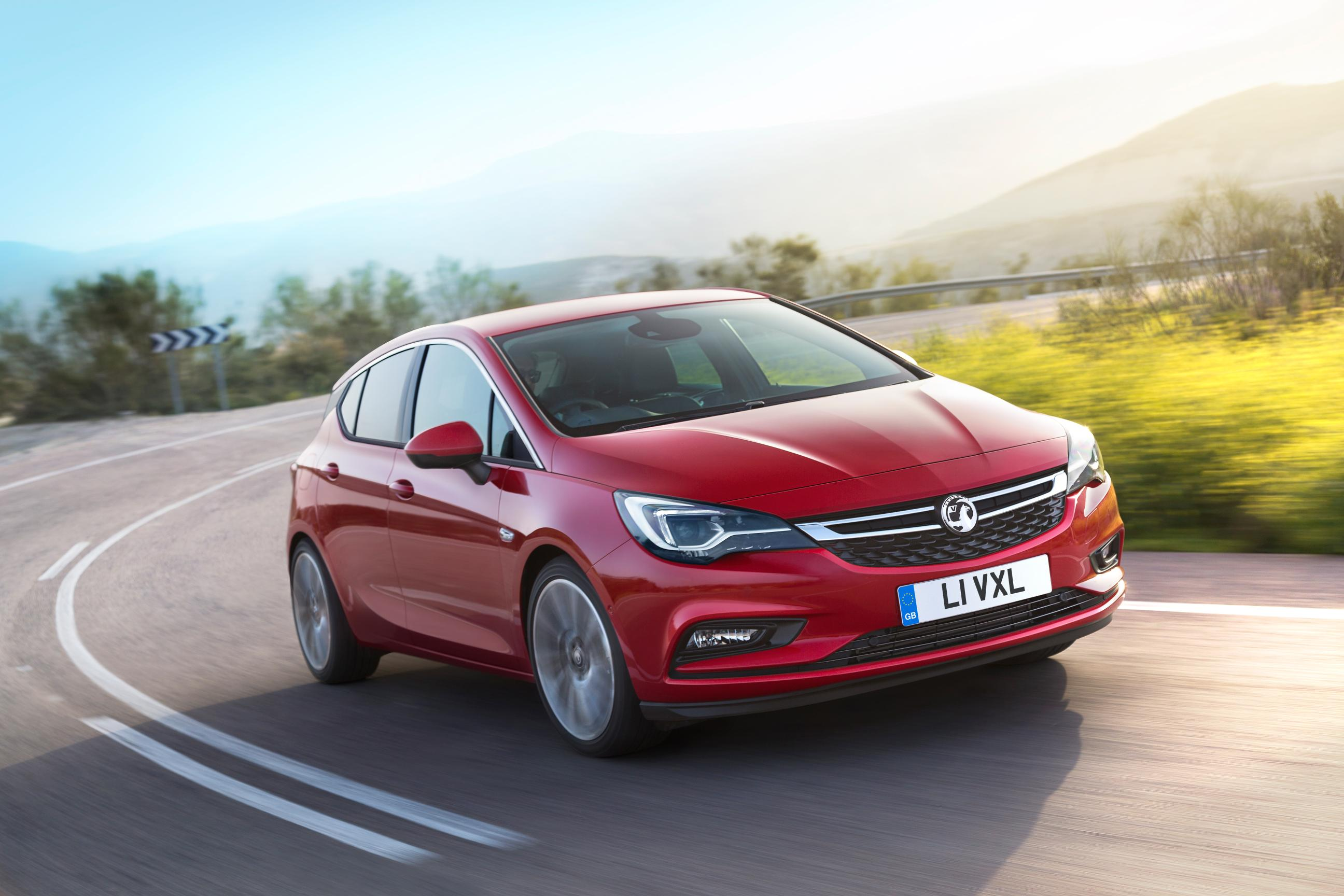 Vauxhall Astra 2017 on Road