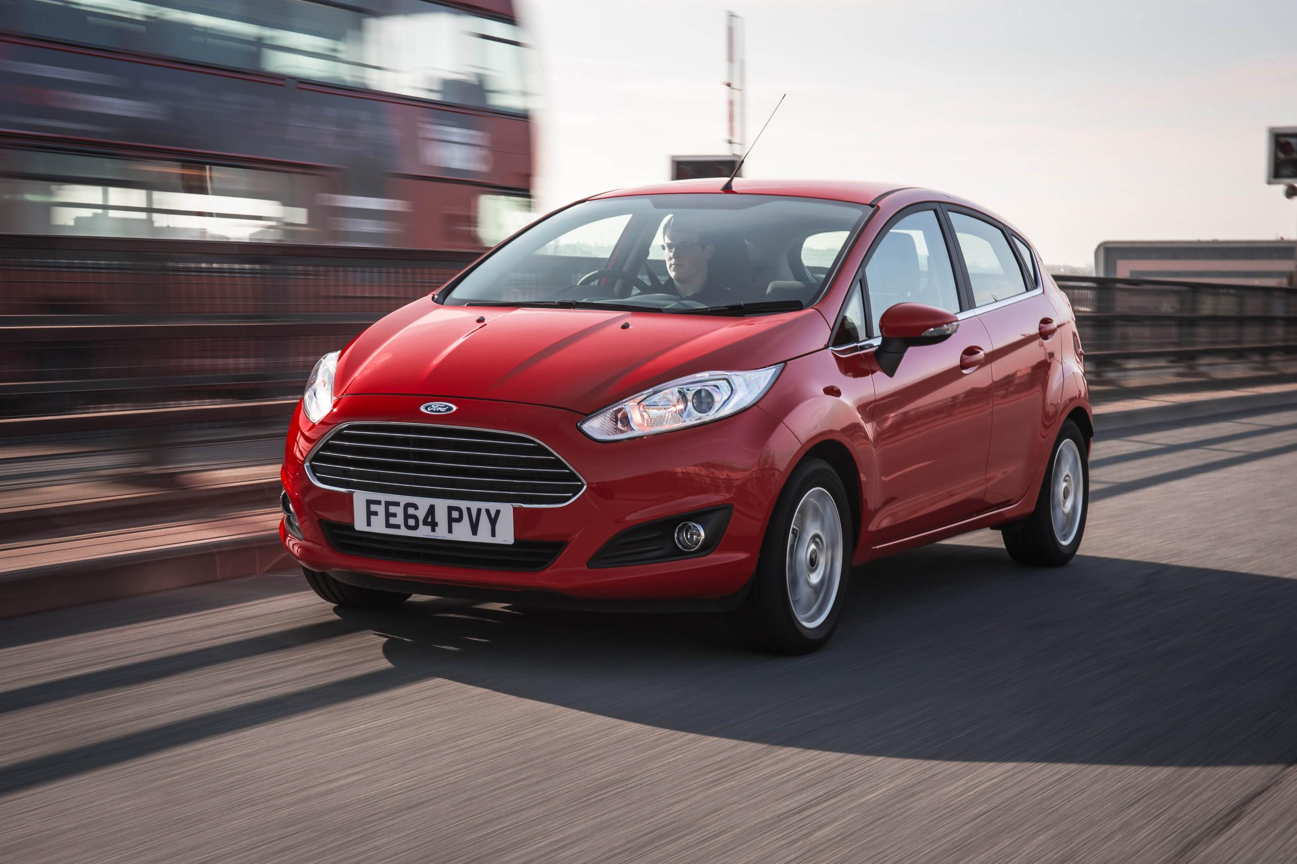 Red Used Ford Fiesta