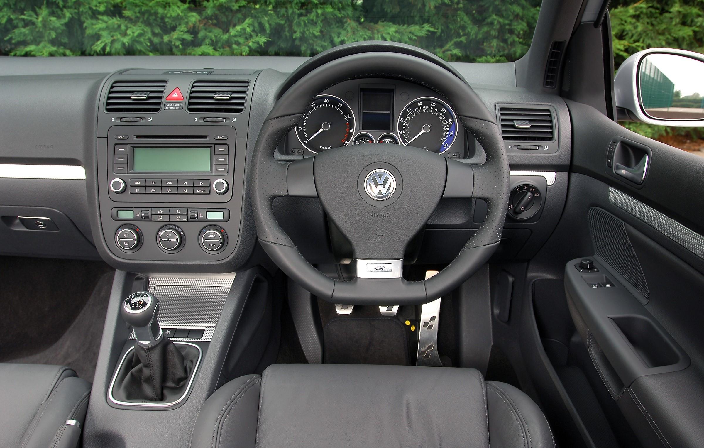 VW Golf dashboard