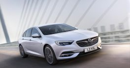 Vauxhall Insignia front view in white