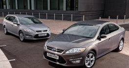 2 Ford Mondeo's parked up