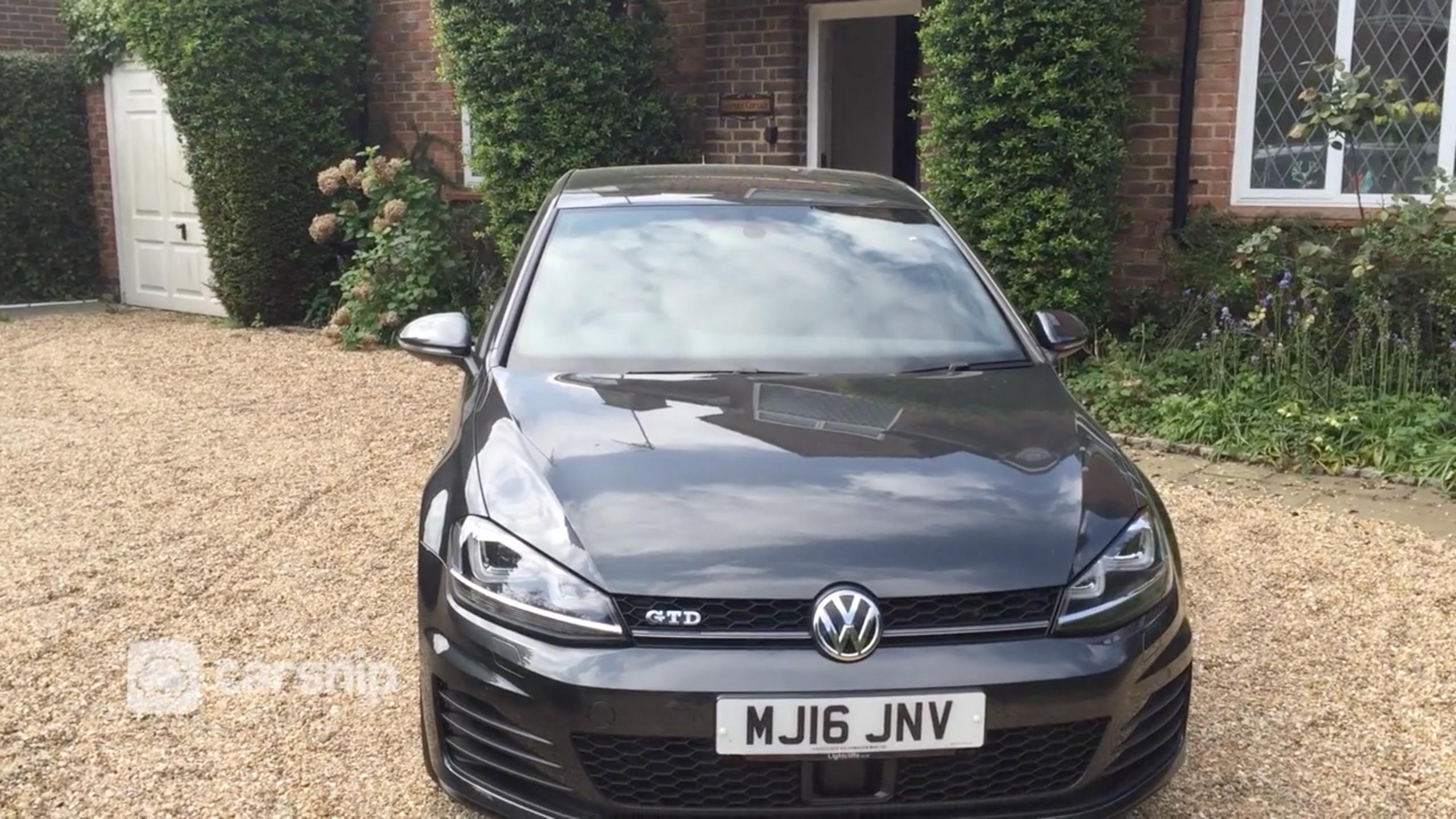 VW Golf GTD (2016)