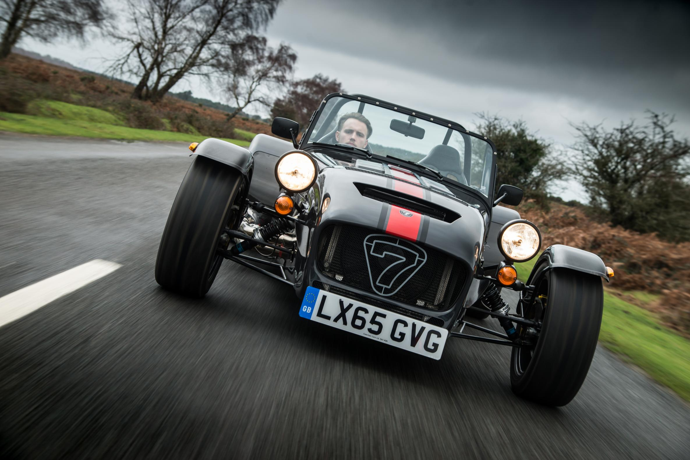 Caterham front view