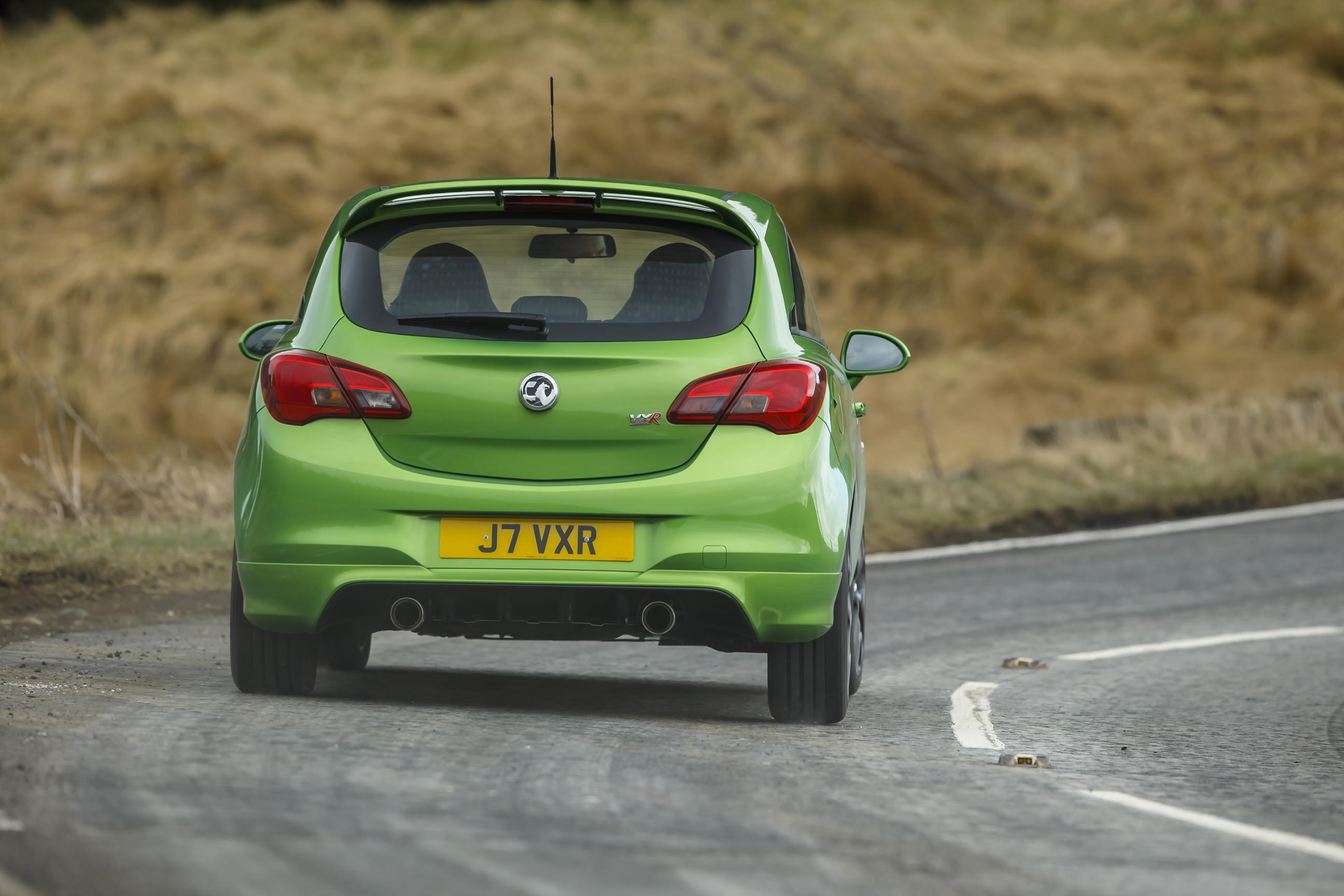 Vauxhall Corsa rear view