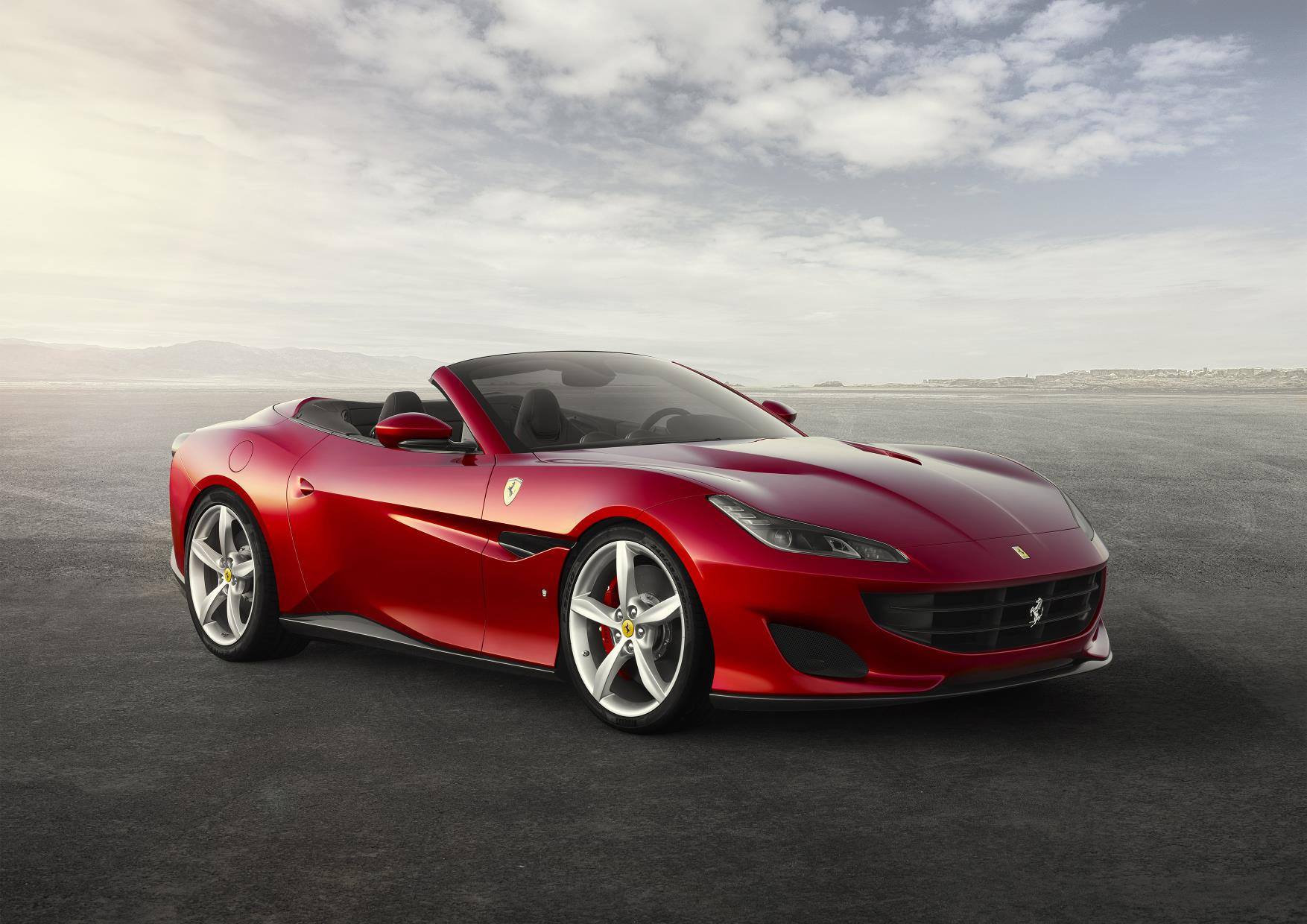 Ferrari Portofino in red