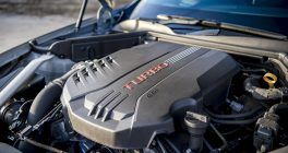 Kia Stinger turbo engine