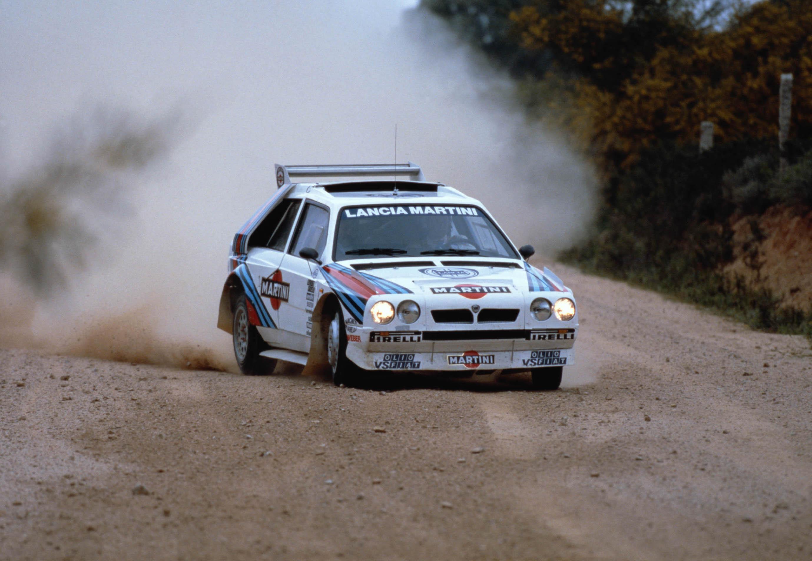 Lancia Delta dirt track