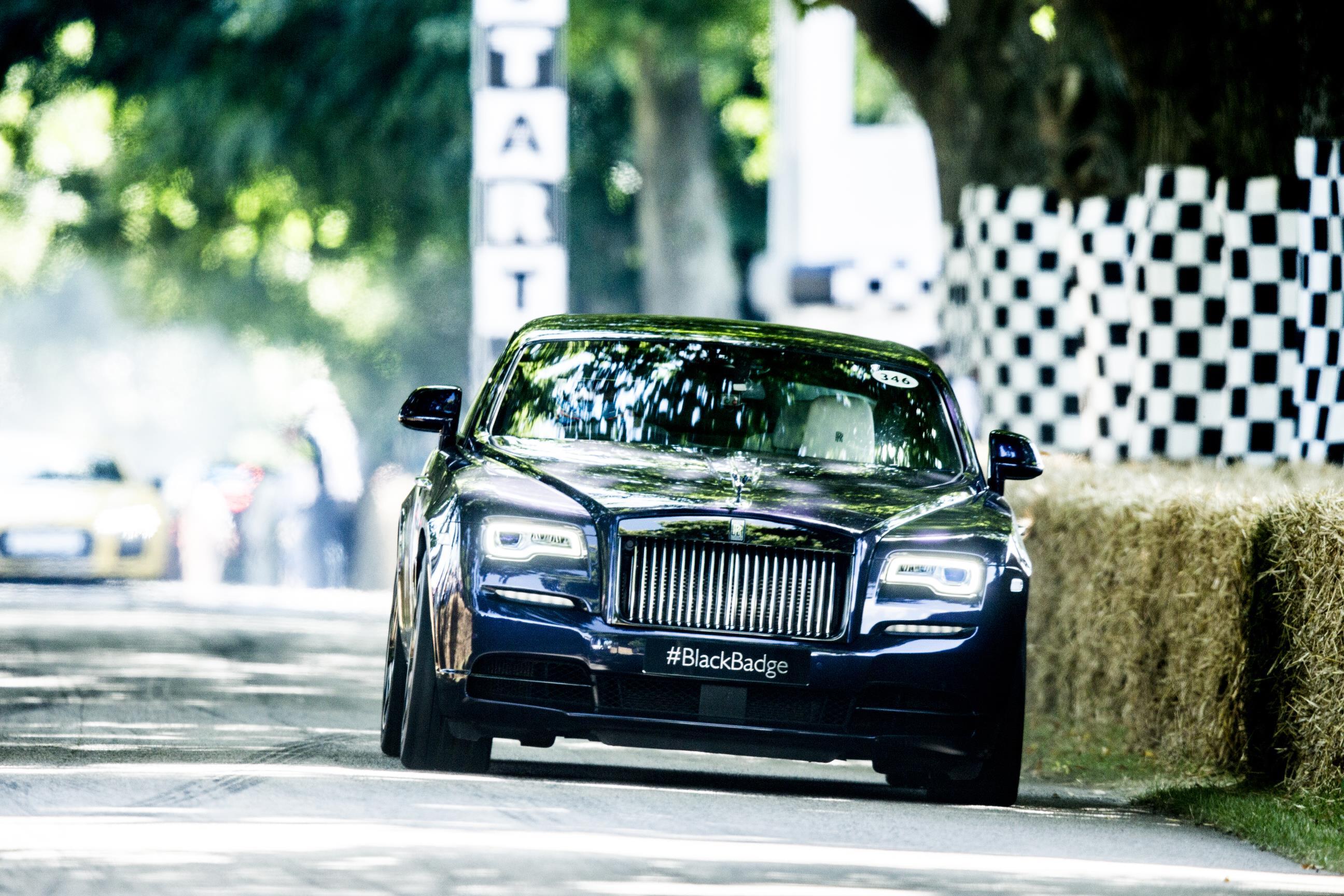 Rolls Royce Wraith Navy