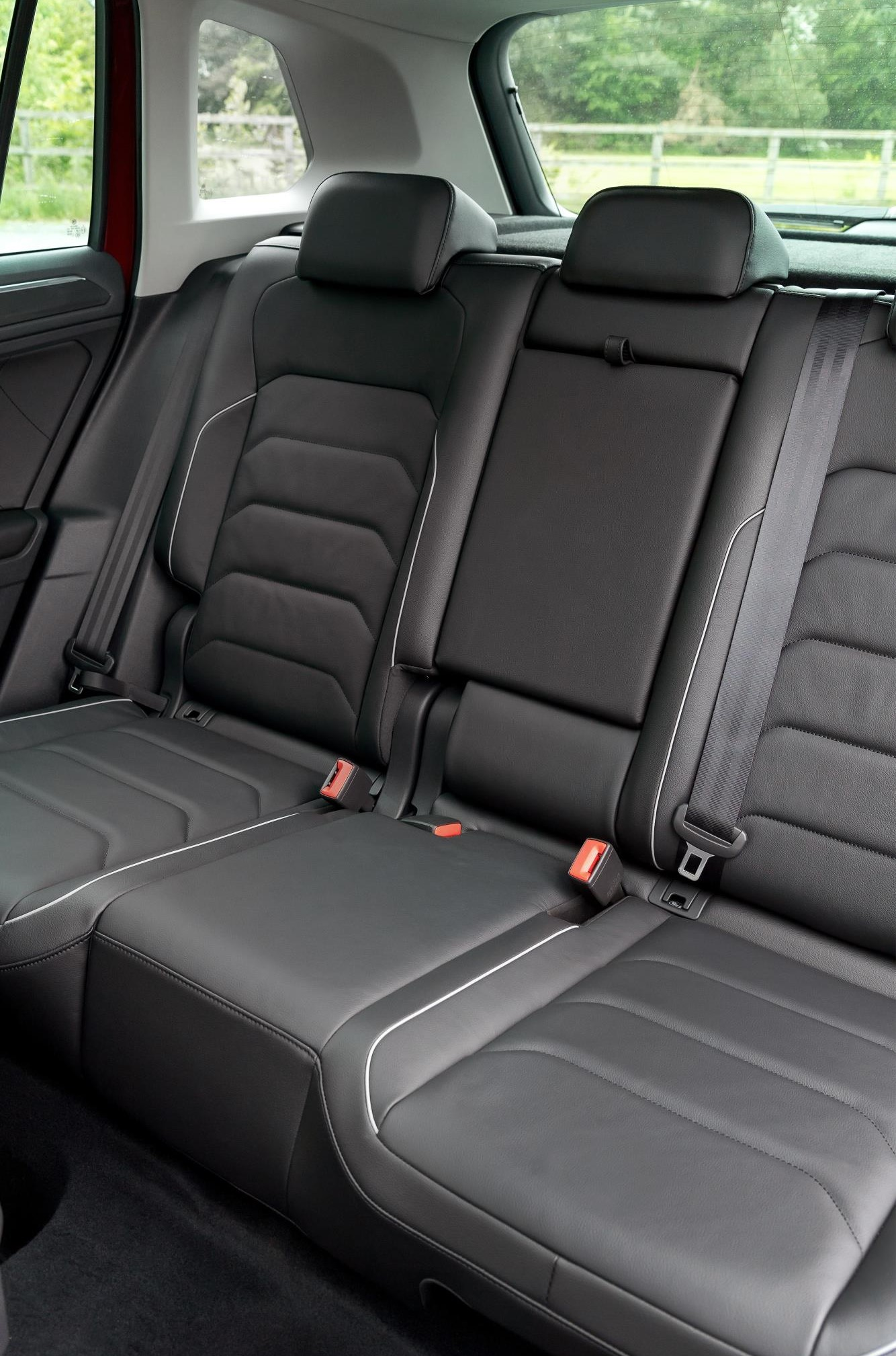 VW Tiguan rear seats