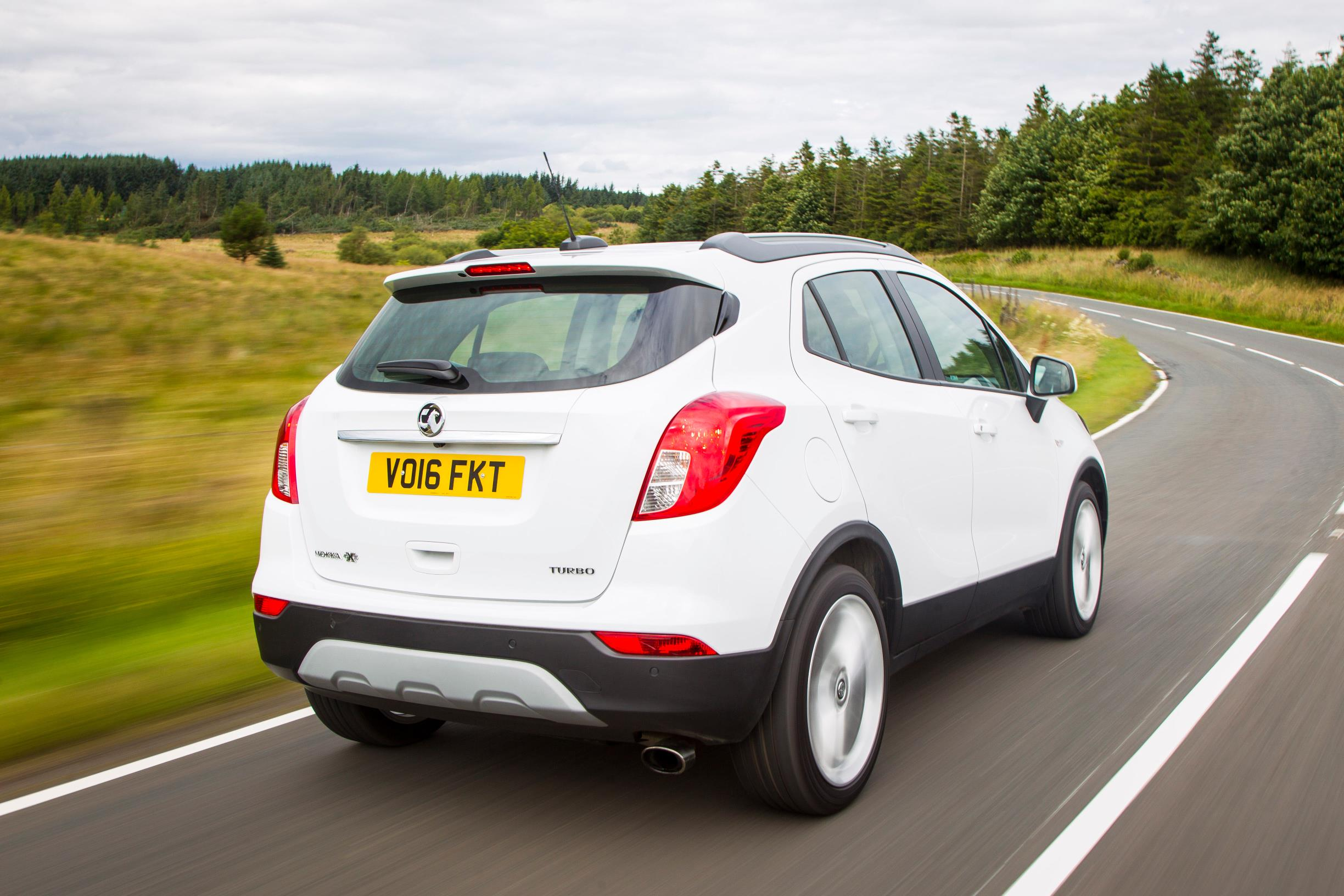 Vauxhall Mokka X Rear View