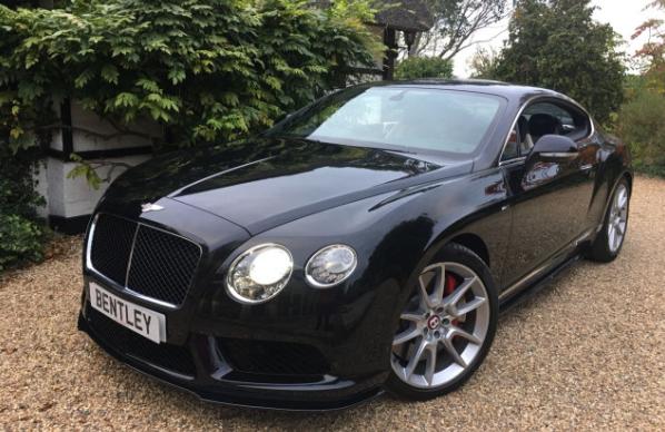 Bentley Continental all black