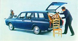 Old Cortina Estate Car