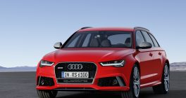 Audi RS 6 Avant performance red