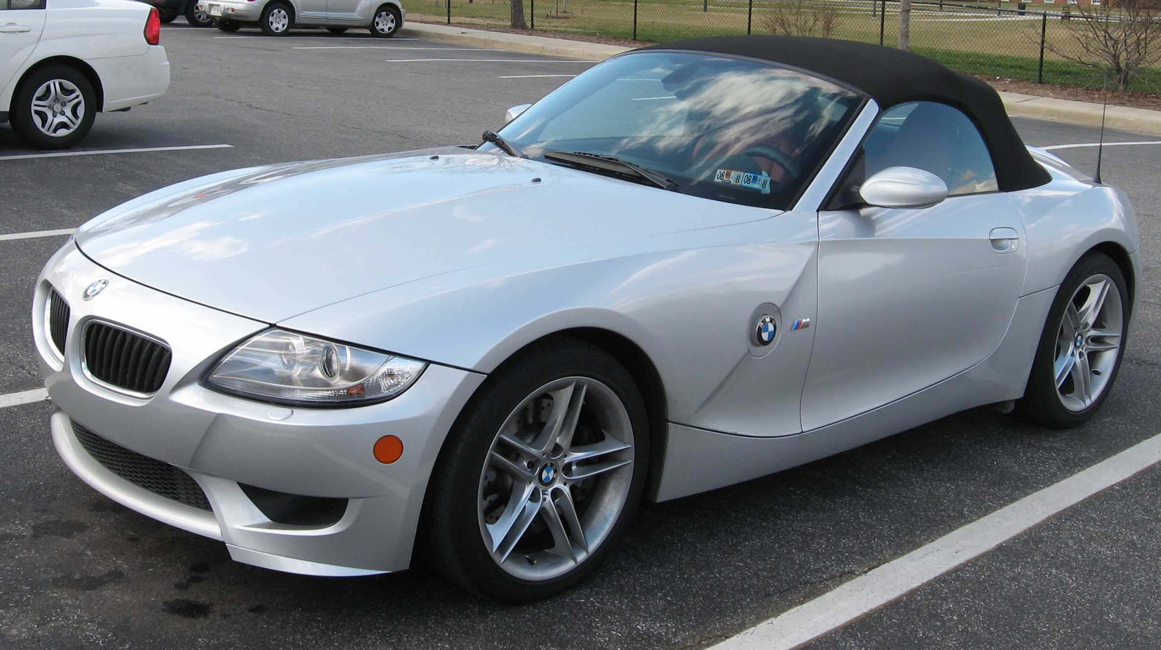 BMW Z4 M 2 front view in silver