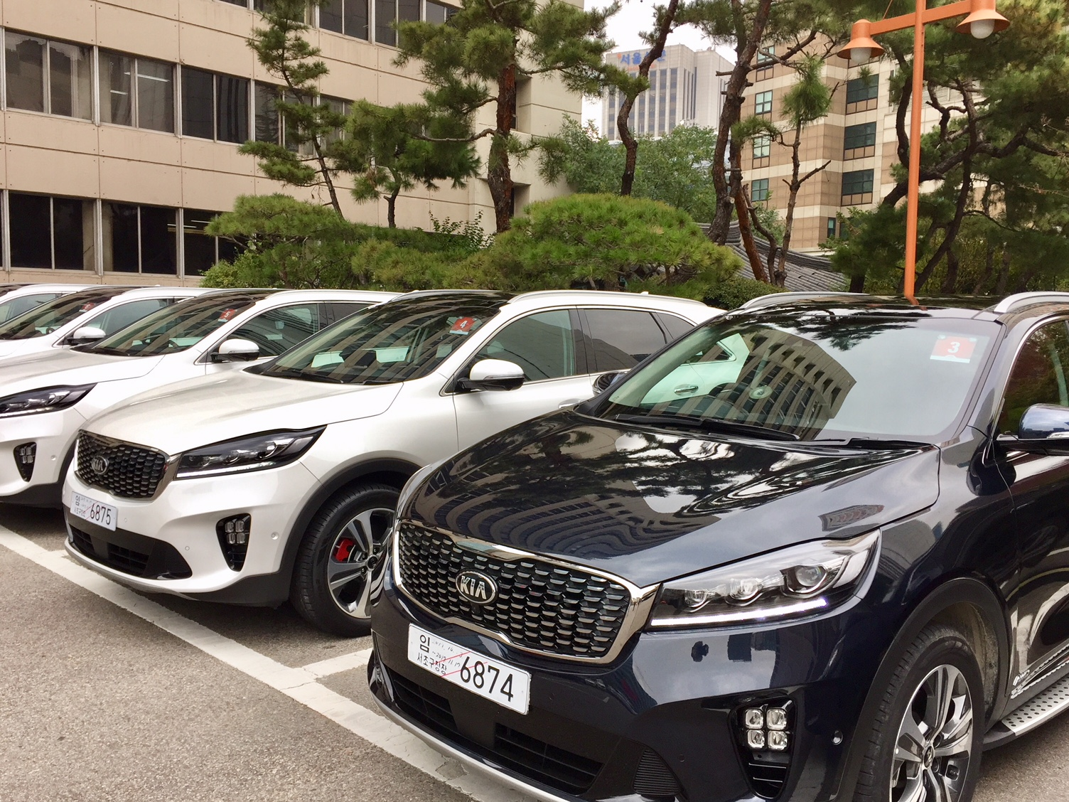 Kia Cars in South Korea