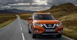 Nissan_X-Trail Front 2017 Facelift Model