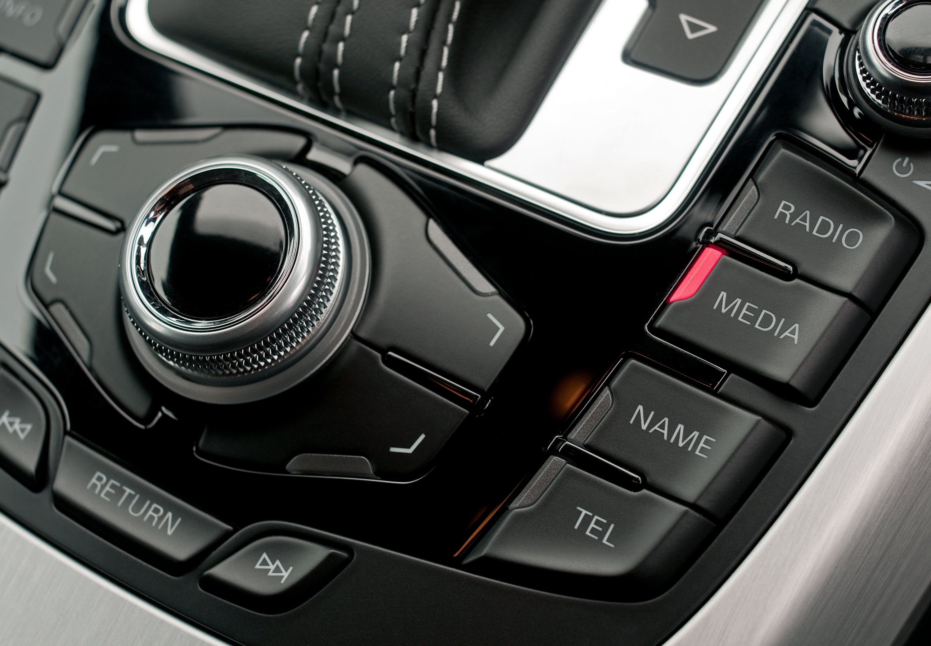 Audi A4 interior buttons