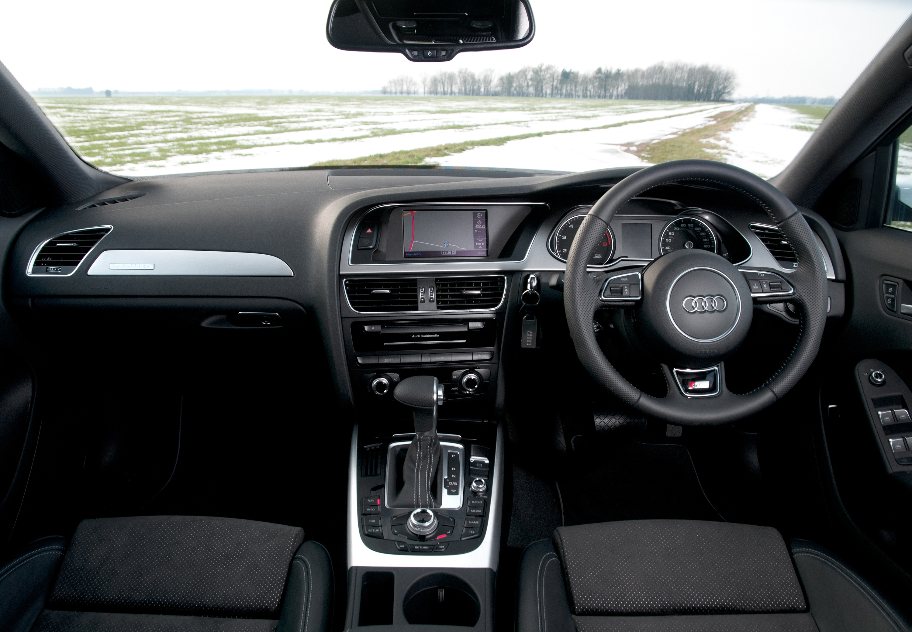 Audi A4 dashboard interior