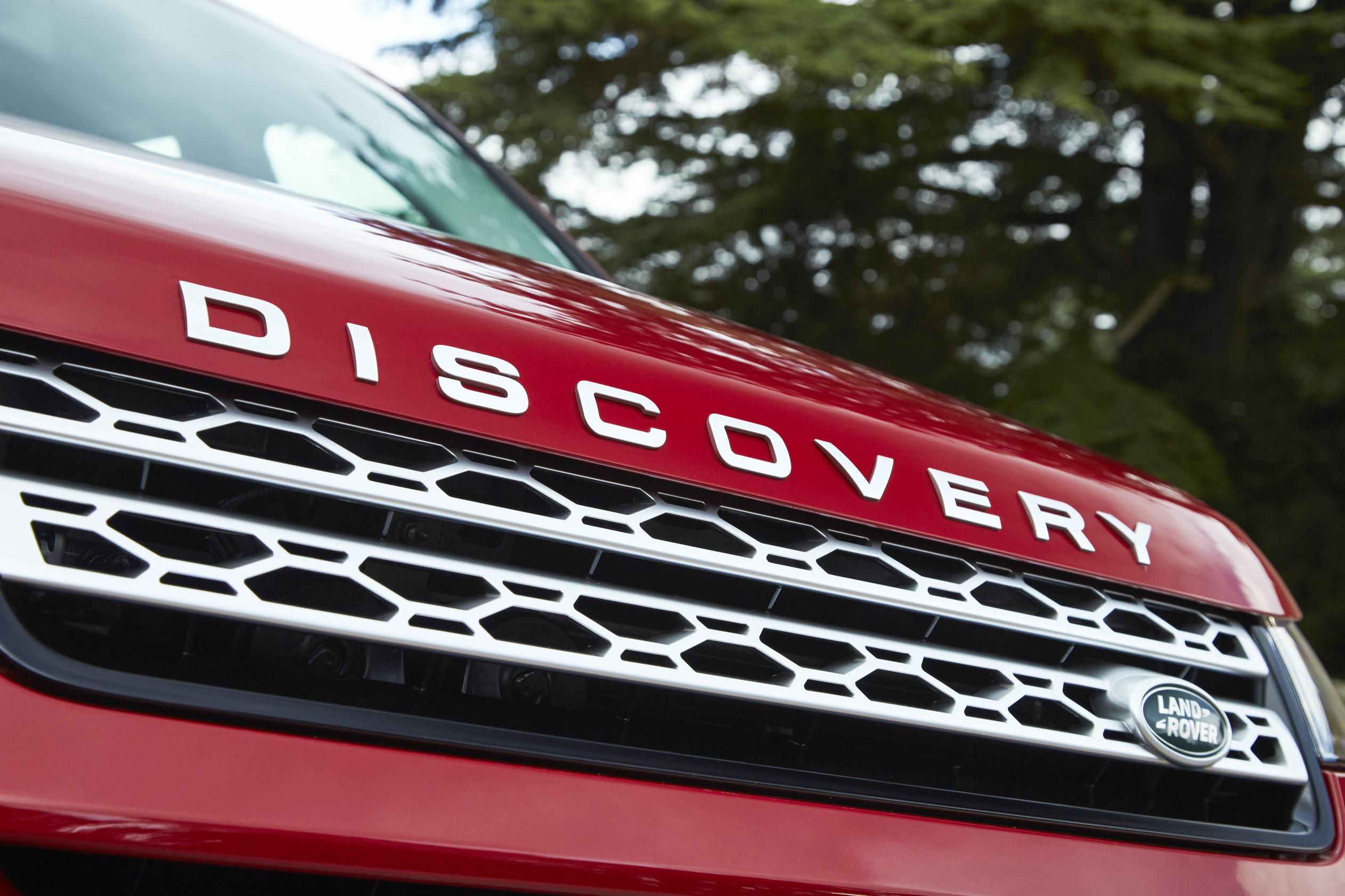 Land Rover Discovery Sport front badge