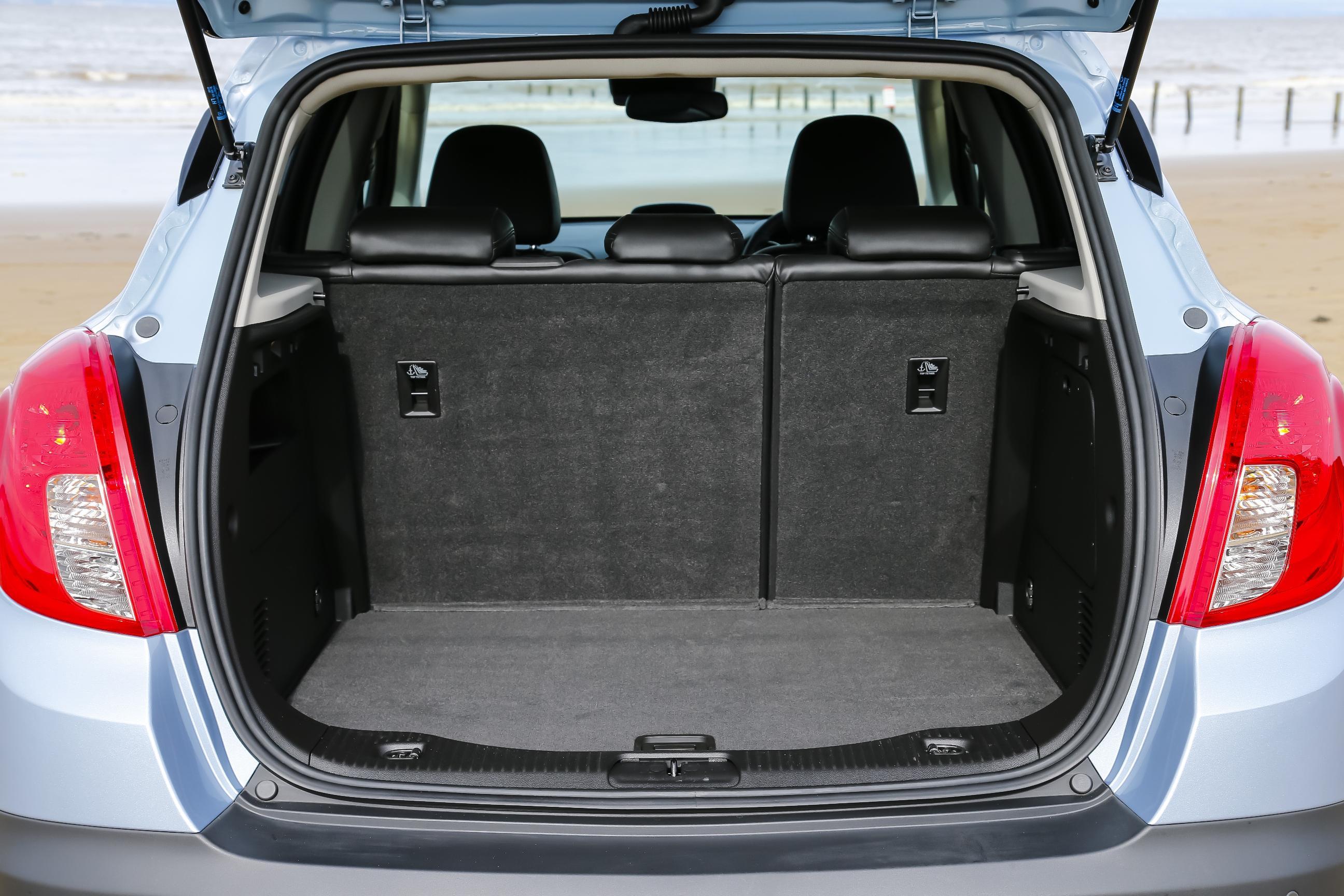Vauxhall Mokka boot size