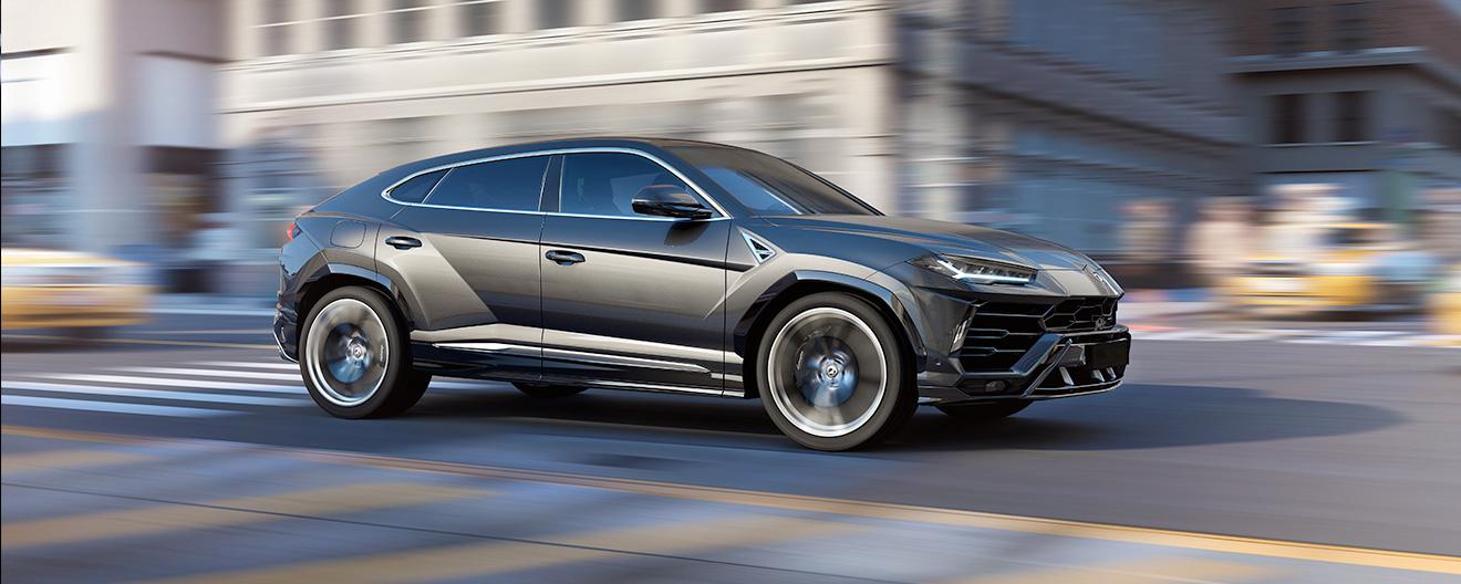 New Lamborghini Urus 2018