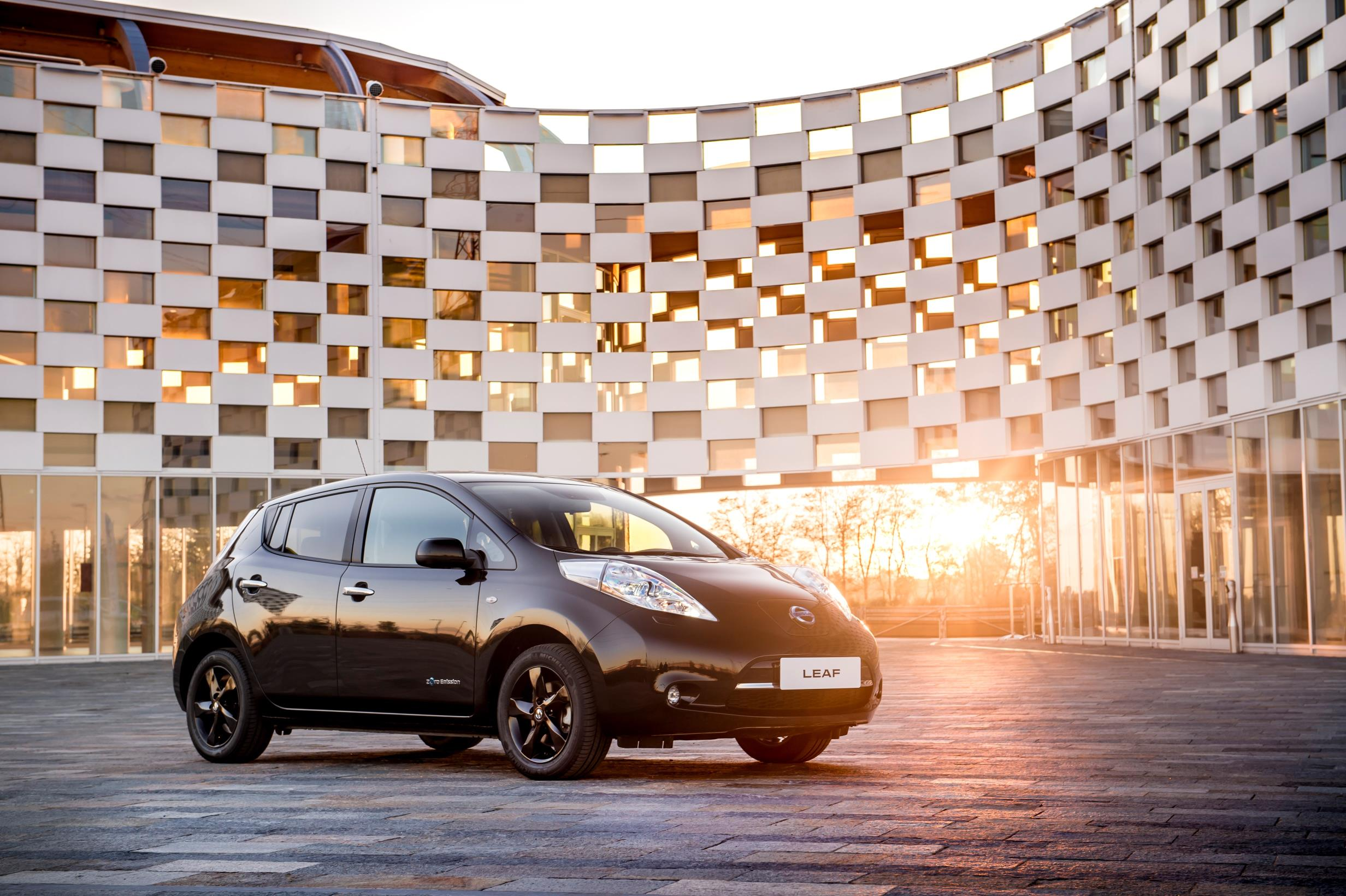 Nissan stylish new LEAF EV