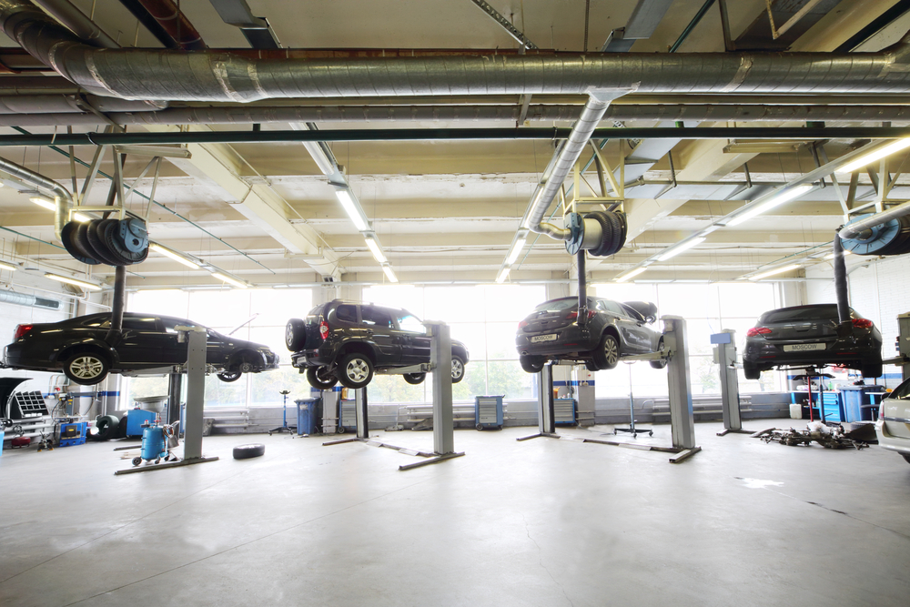 cars hanging