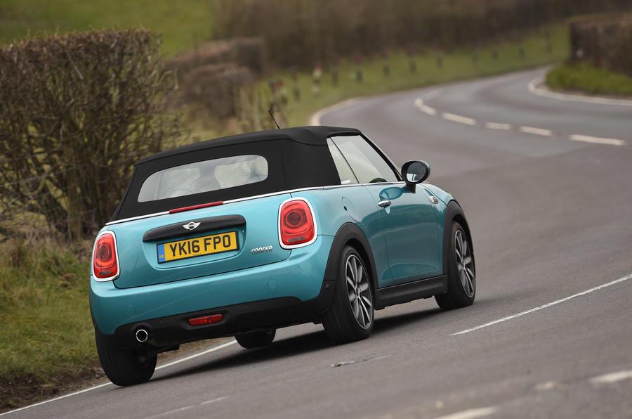 Mini Cooper Convertible rear